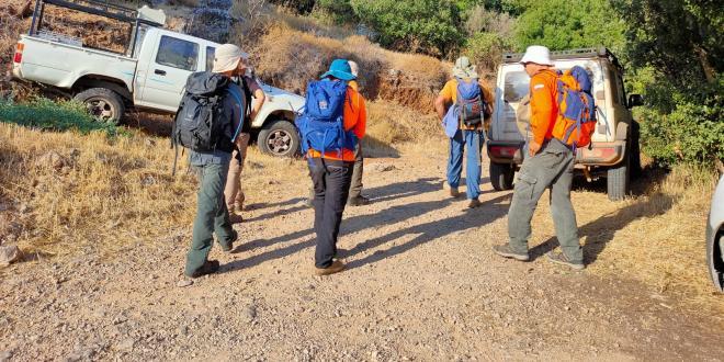 4 נערים ללא מים וסובלים מהתייבשות בנחל עמוד, הוקפצו צוותי חילוץ