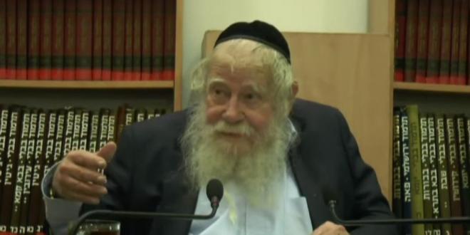 הרב עדין שטיינזלץ, מגדולי הפרשנים ביהדות הלך היום לעולמו