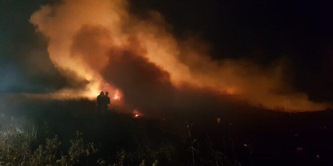 24 שריפות פרצו בעוטף עזה כתוצאה מבלוני תבערה ששוגרו מעזה