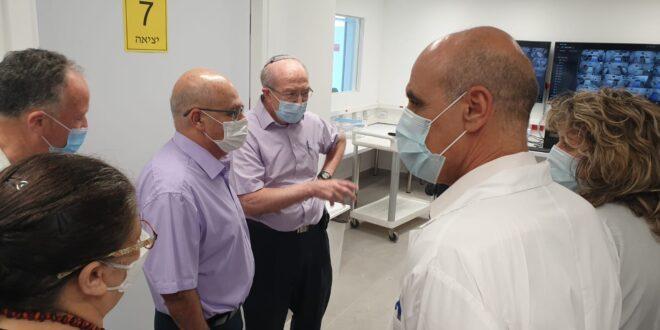 המרכז הרפואי הרצוג פתח מחלקת אשפוז לחולי קורונה