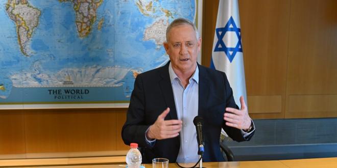 שר הביטחון גנץ חתם על צו המכריז על SAMIDOUN כארגון טרור