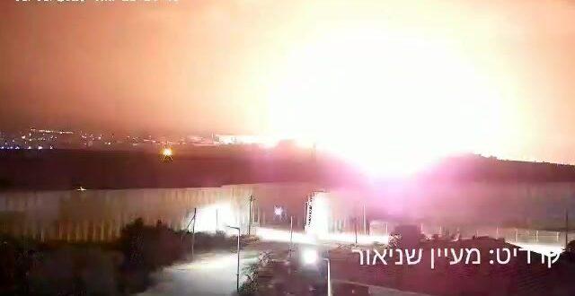 """צה""""ל מאשר: תקפנו תשתית תת קרקעית של חמאס בצפון רצועת עזה"""