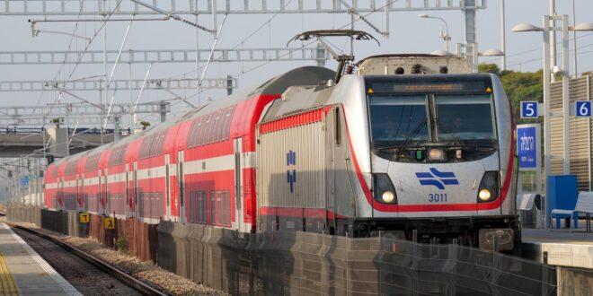 רכבת ישראל: שיבושים בתנועת הרכבות בין אשדוד לאשקלון בשל הפגנה