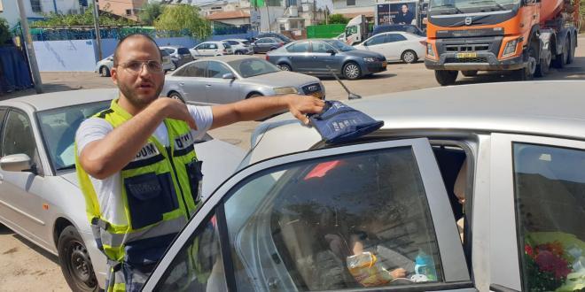 ילד ננעל בשגגה ברכב בתל אביב וחולץ בשלום