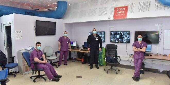 שיא של 87 חולים במחלקות הקורונה במרכז הרפואי לגליל