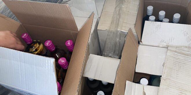 המשטרה מנעה שיווק רחב של אלכוהול מזויף מהשומרון