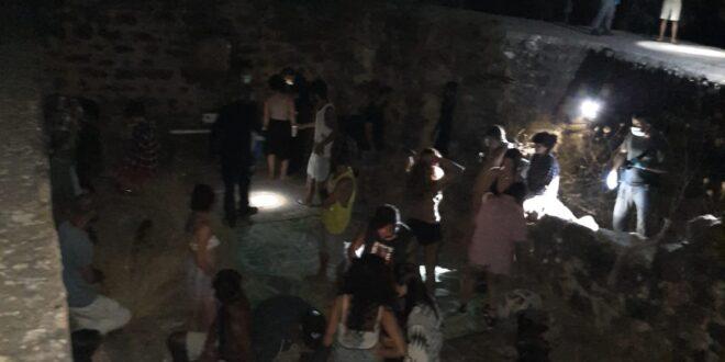 המשטרה פיזרה מסיבה של כ-30 צעירים סמוך לשמורת הבניאס