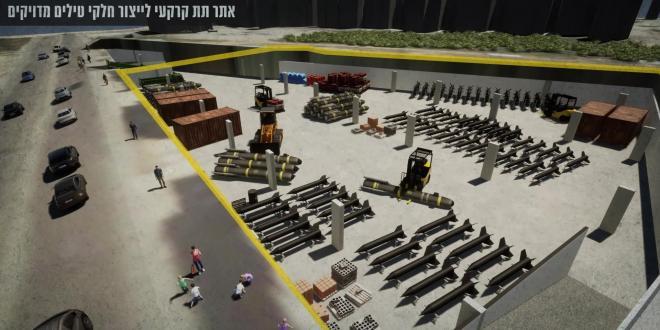 פרויקט דיוק הטילים נמשך: ישראל חשפה אתרי חיזבאללה בלב ביירות
