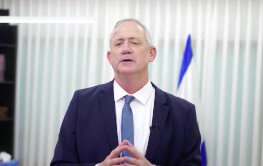 גנץ: כחול לבן תצביע בעד פיזור הכנסת