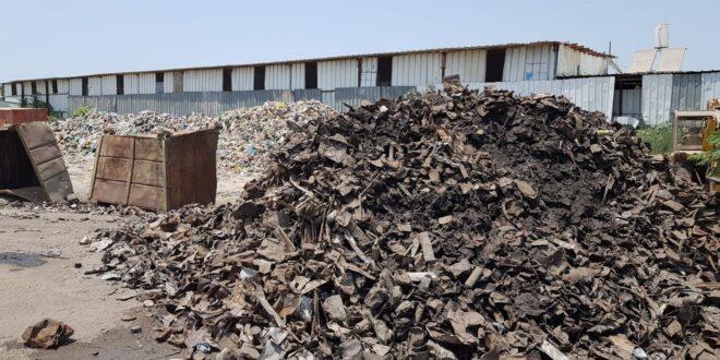 נסגרה תחנת מעבר פיראטית לשריפת פסולת סמוך למושב שדה עוזיה