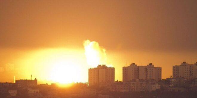 """בתגובה לירי הרקטות: צה""""ל תקף מטרות של ארגון חמאס"""