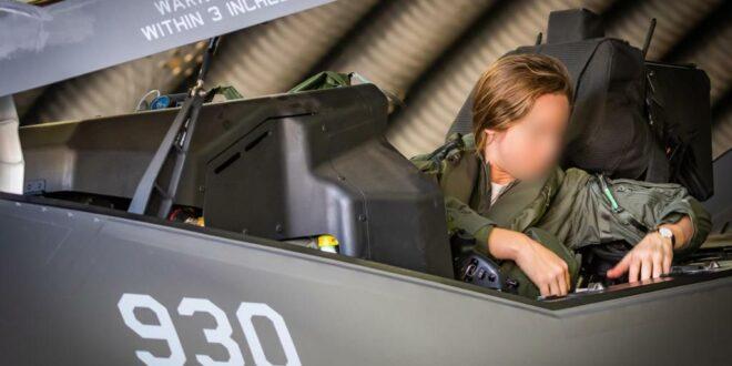 """טייסת ה-F35 היחידה בצה""""ל מונתה לסגנית מפקד הטייסת"""