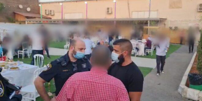 המשטרה פיזרה שתי חתונות ושתי מסיבות חינה בכפר קאסם