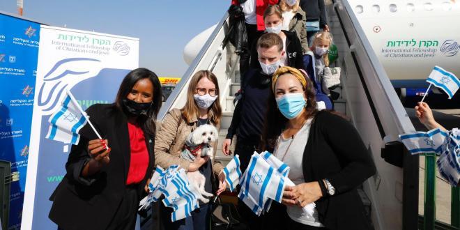 העולה ה-3.3 מיליון עלה מאוקראינה ברכבת אווירית מיוחדת