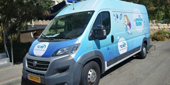 שפעת בצל הקורונה: מכבי מפעילה ניידת חיסונים במחוז ירושלים ושפלה