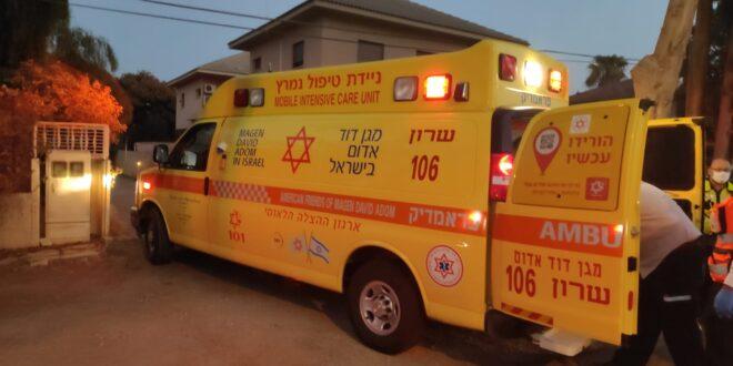 בן 32 נפצע בינוני בקטטה בפרדס חנה כרכור