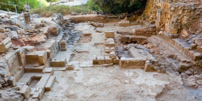 כנסייה מהתקופה הביזנטית התגלתה בשמורת מעיינות הבניאס