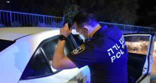 כוח משטרה סמוי של היחידה המרכזית במחוז צפון, שפעל אמש ביישוב מע'אר, זי...