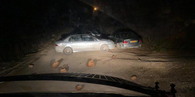 """שני תושבי המאחז """"קומי אורי"""" נעצרו בחשד לפגיעה בלוחם והפרעה לשוטרים"""