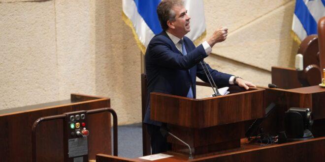 שר המודיעין: איראן מבצעת פעילות שנועדה להשפיע על דעת הקהל בישראל