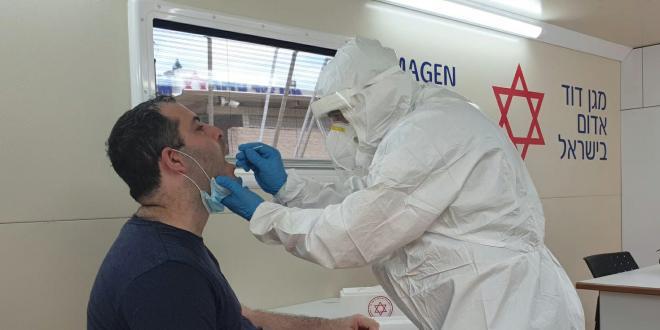 במהלך השבוע האחרון: 136,931 בני אדם נדגמו לצורך בדיקת קורונה