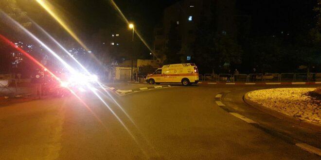 גבר ואישה בני 30 נפצעו קשה באירוע אלימות בירושלים