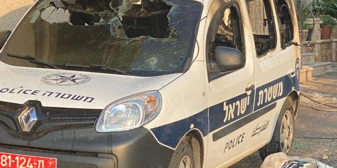 קטטה בכאבול: 12 חשודים נעצרו, נזק נגרם לניידות משטרה