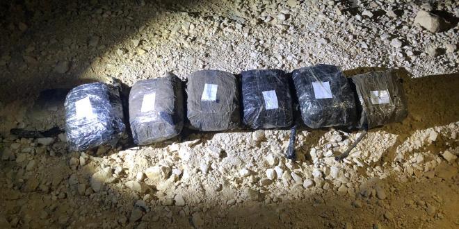 """לוחמי מג""""ב סיכלו הברחת 13 שקים של קנאביס בגבול מצרים – ישראל"""