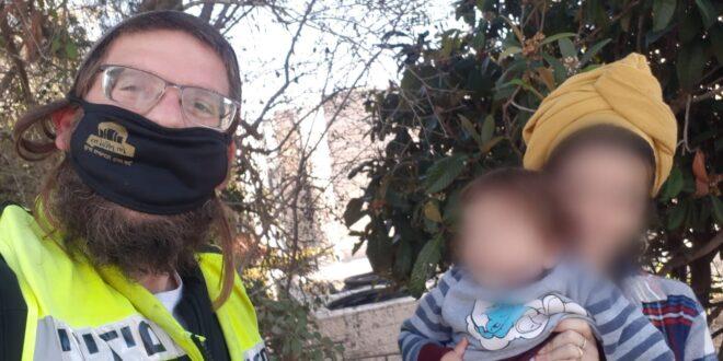 תינוק ננעל בשגגה בתוך רכב בבית אל וחולץ בשלום