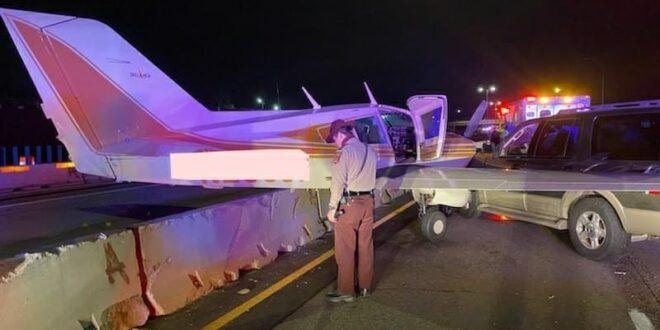 צפו בתיעוד: נחיתת מטוס על כביש מהיר במינסוטה