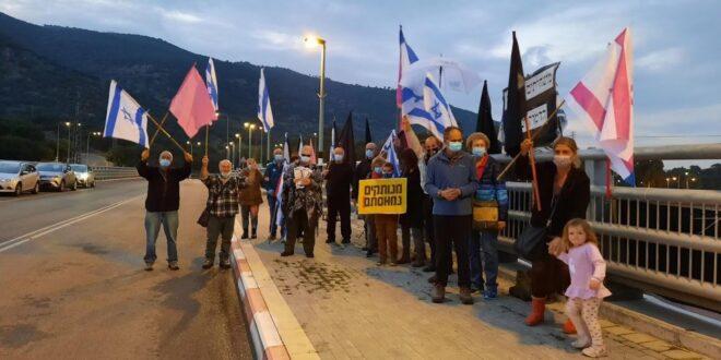 החלו הפגנות הדגלים השחורים בגשרים, בצמתים ובשכונות