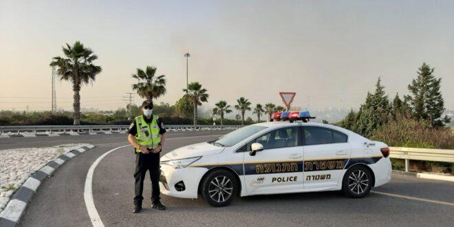 המשטרה: נרשמו מספר אירועים אלימים כלפי השוטרים, אזרחים וכלי רכב