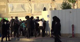 הפרות הסדר באשדוד: החל משעות הבוקר המוקדמות מנעו שוטרי משטרת ישראל כני...