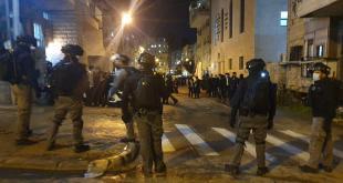 מחאה ברחוב בר אילן בירושלים - מאות מפגינים הפרו את הסדר, התעמתו עם שוט...