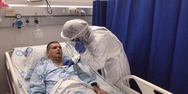ביום הראשון לעבודתה במחלקת קורונה: אביה של הסטאז'רית אושפז במחלקה