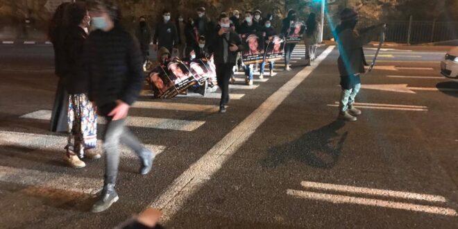"""3 קטינים נוספים נעצרו במחאות על הרג אהוביה סנדק ז""""ל"""