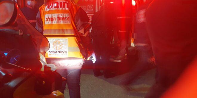 4 בני אדם נפצעו קל בקטטה ברחובות
