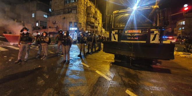 עשרה בני אדם נעצרו במחאה ברחוב בר אילן בירושלים