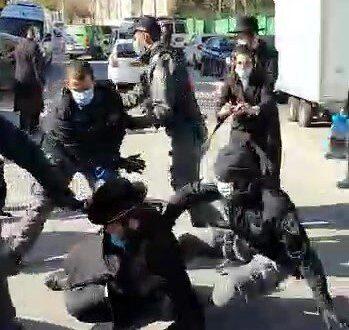 6 נעצרו בעימותים בין חרדים ושוטרים בירושלים