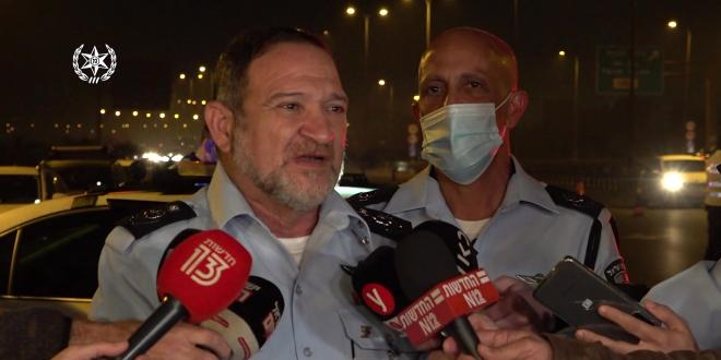 """המפכ""""ל שבתאי: """"לא נאפשר התפרעויות אלימות ופגיעה בשוטרים"""""""