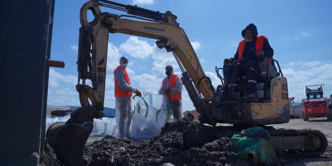 זיהום הנפט: הועברו כספים לרשויות מקומיות לכיסוי הוצאות ניקוי החופים