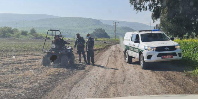 """מג""""ב יצא למבצע שמירה על השטחים החקלאיים: """"התוצרת הישראלית חשובה לכולנו"""""""
