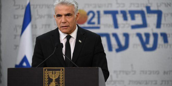 לפיד: לא אתמוך בהצעה לבחירה ישירה, נקים ממשלת אחדות ישראלית
