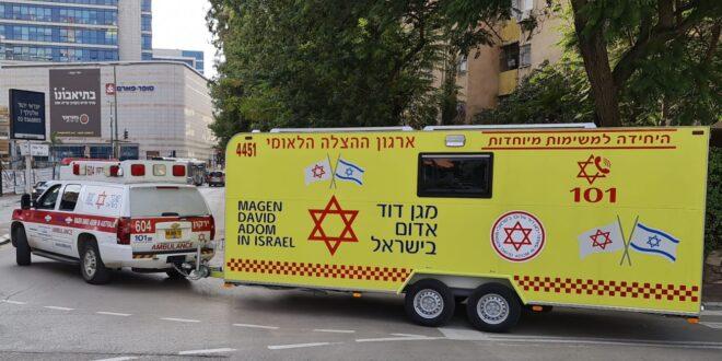 עשרות מתחמי חיסונים של מגן דוד אדום מגיעים לישובים ברחבי הארץ