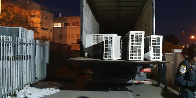 5 תושבי מזרח ירושלים נעצרו בחשד לגניבת מזגנים מעסק בחיפה