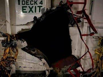 הערכה בישראל: איראן עומדת מאחורי הפיצוץ באונייה הישראלית בעומאן
