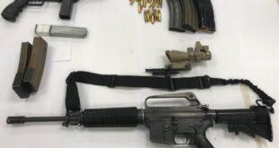 המאבק בירי ושימוש באמצעי הלחימה בחברה הערבית - בחודש החולף תפסו כוחות ...