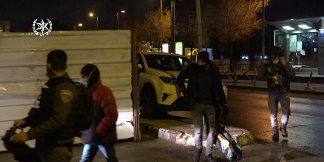 תקיפת נהג ההסעות בירושלים: 12 חשודים נעצרו בפשיטה משטרתית