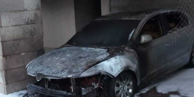 נהריה: תושב העיר נעצר בחשד להצתת רכב