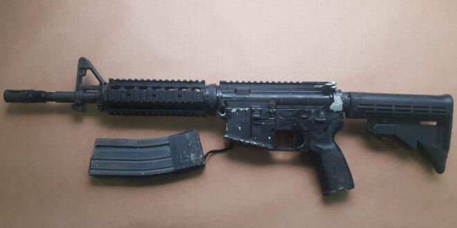 """""""בכל יום נתפס לפחות נשק אחד בממוצע"""": תושב הצפון חשוד בהחזקת M16"""
